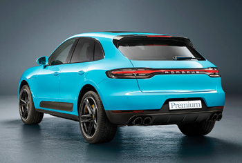 Porsche unveils the new version of the Macan, its compact SUV.
