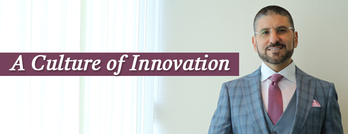 A culture of innovation - Fadi Hindi